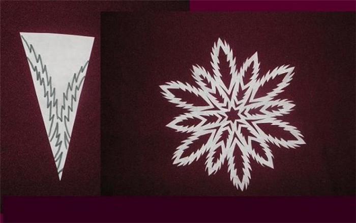 Красивые снежинки из бумаги своими руками фото