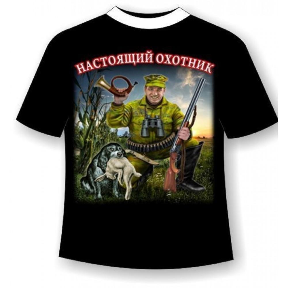 Прикольные картинки на футболках про охоту
