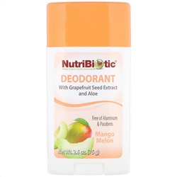 NutriBiotic, Deodorant, Mango Melon, 2.6 oz (75 g)