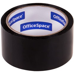 "Клейкая лента 48мм*40м"" OfficeSpace"" черная (КЛ_18878)"