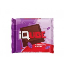"Шоколад ""IQube chocolate raisins"" 70 г"