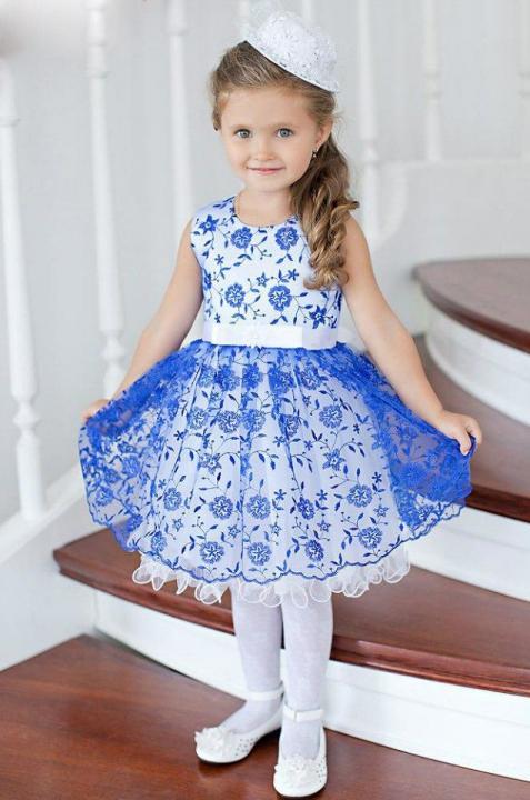 Платья для девочки своими руками нарядные