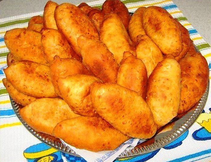 Жаренные пирожки рецепт фото
