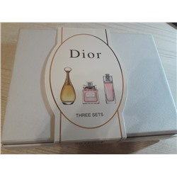Набор Christian Dior  (Jadore + Miss Dior + Addict To Life) 3*30мл