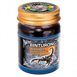 "Binturong. Черный бальзам с ядом cкорпиона ""Black Balm with Scorpion venom"", 50г 1283"