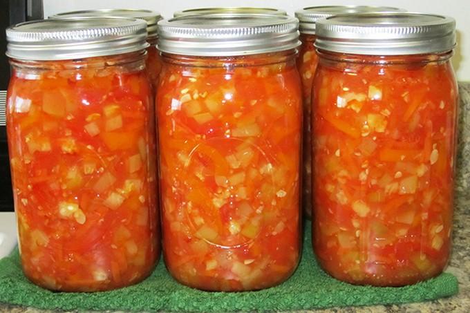 Салат из кабачков на зим у